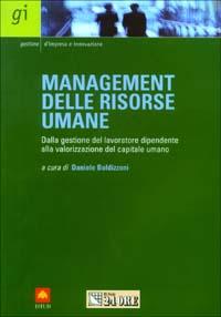 Management delle risorse umane