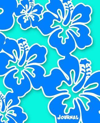 Journal (Hawaiian Hibiscus Flower Blue & Aqua Edition)