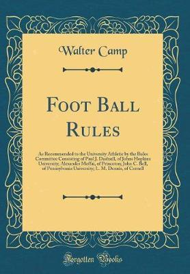 Foot Ball Rules