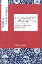 Civil Government in Warlord China