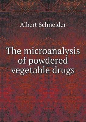 The Microanalysis of...