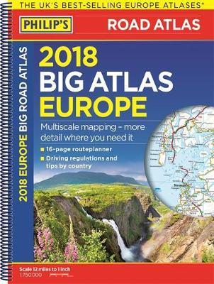 Philip's 2018 Big Road Atlas Europe