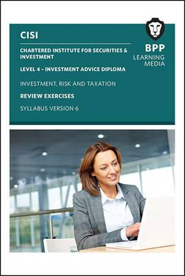 CISI IAD Level 4 Investment Risk and Taxation Syllabus Version 6