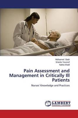 Pain Assessment and Management in Critically Ill Patients