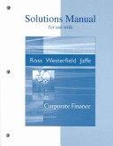 Solutions Manual to Accompany Corporate Finance