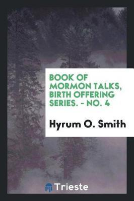 Book of Mormon talks...