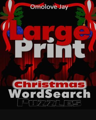 Large Print Christmas Wordsearch Puzzles