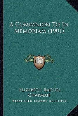 A Companion to in Memoriam (1901)