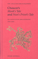 Chaucer's Monk's Tale and Nun's Priest's Tale