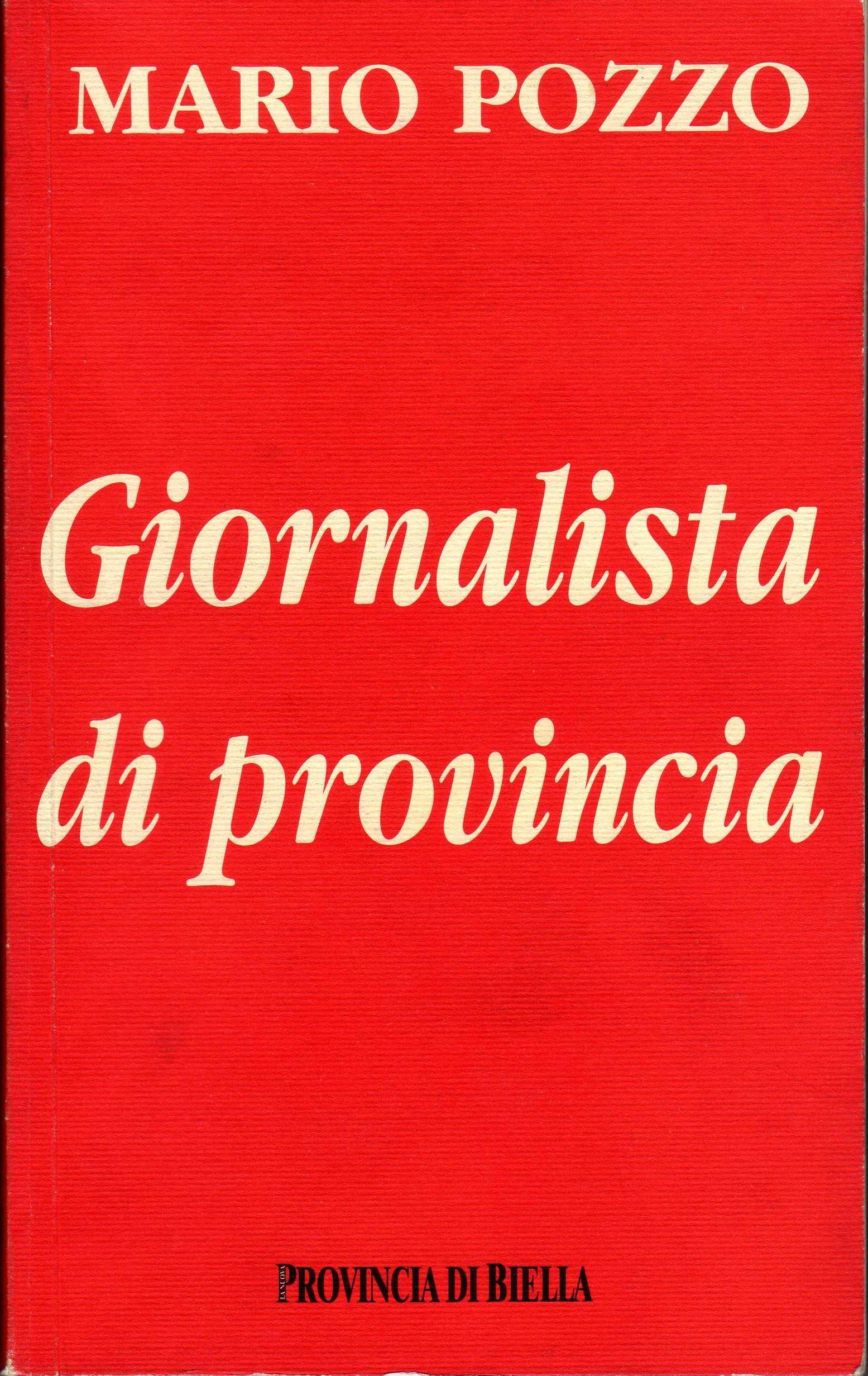 Giornalista di provincia