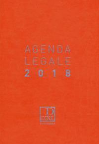Agenda legale d'udienza 2018. Ediz. arancione