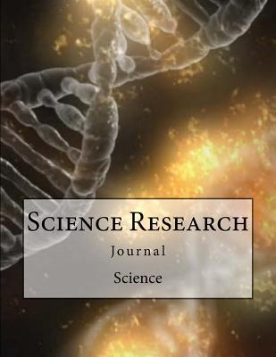 Science Research Lined Journal