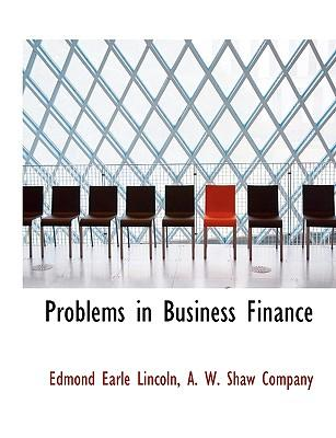 Problems in Business Finance