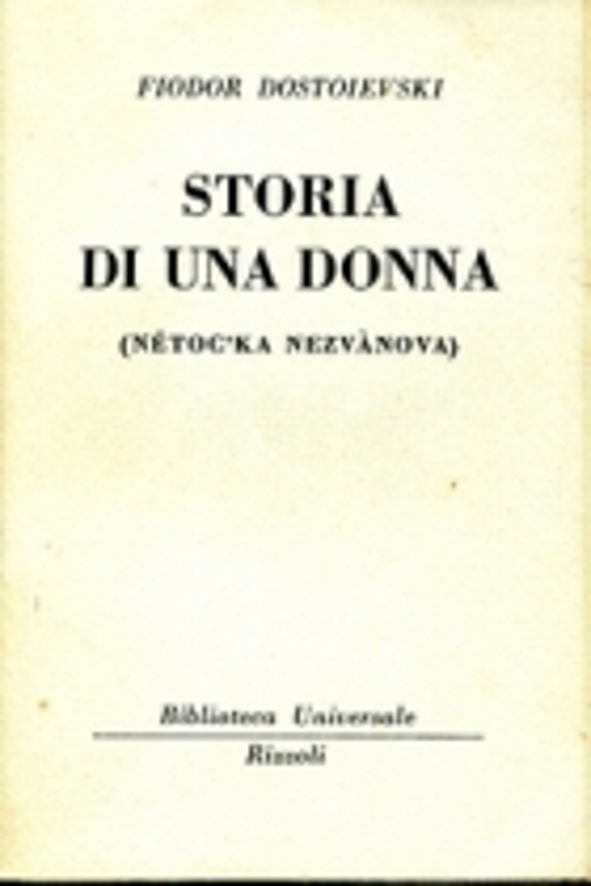 Storia di una donna