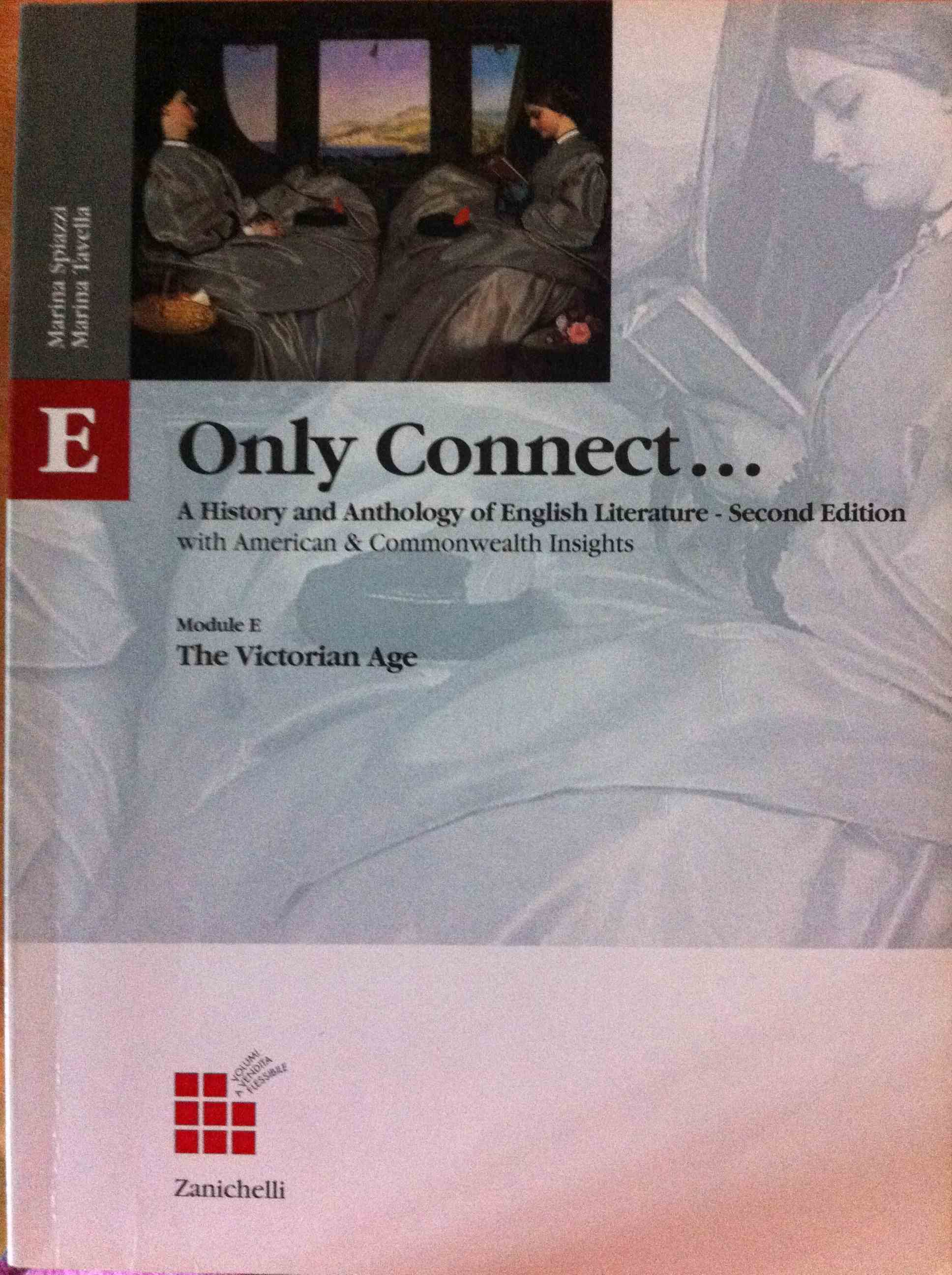 Only connect. A history and anthology of English literature with American and Commonwealth insights. Modulo E. Per le Scuole superiori