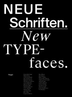 Neue Schriften. New Typefaces