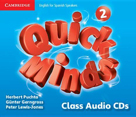 Quick Minds Level 2 Class Audio CDs Spanish Edition