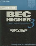 Cambridge BEC Higher