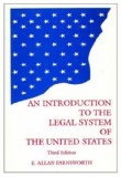 Introduction to the Legal System of the United States
