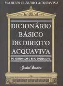 Dicionário Básico de Direito Acqua Viva