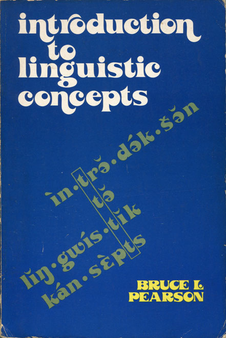 Introduction to Linguistic Concepts