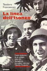 La linea dell'Isonzo