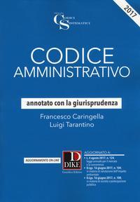 Codice amministrativo annotato con la giurisprudenza. Con Contenuto digitale per download e accesso on line