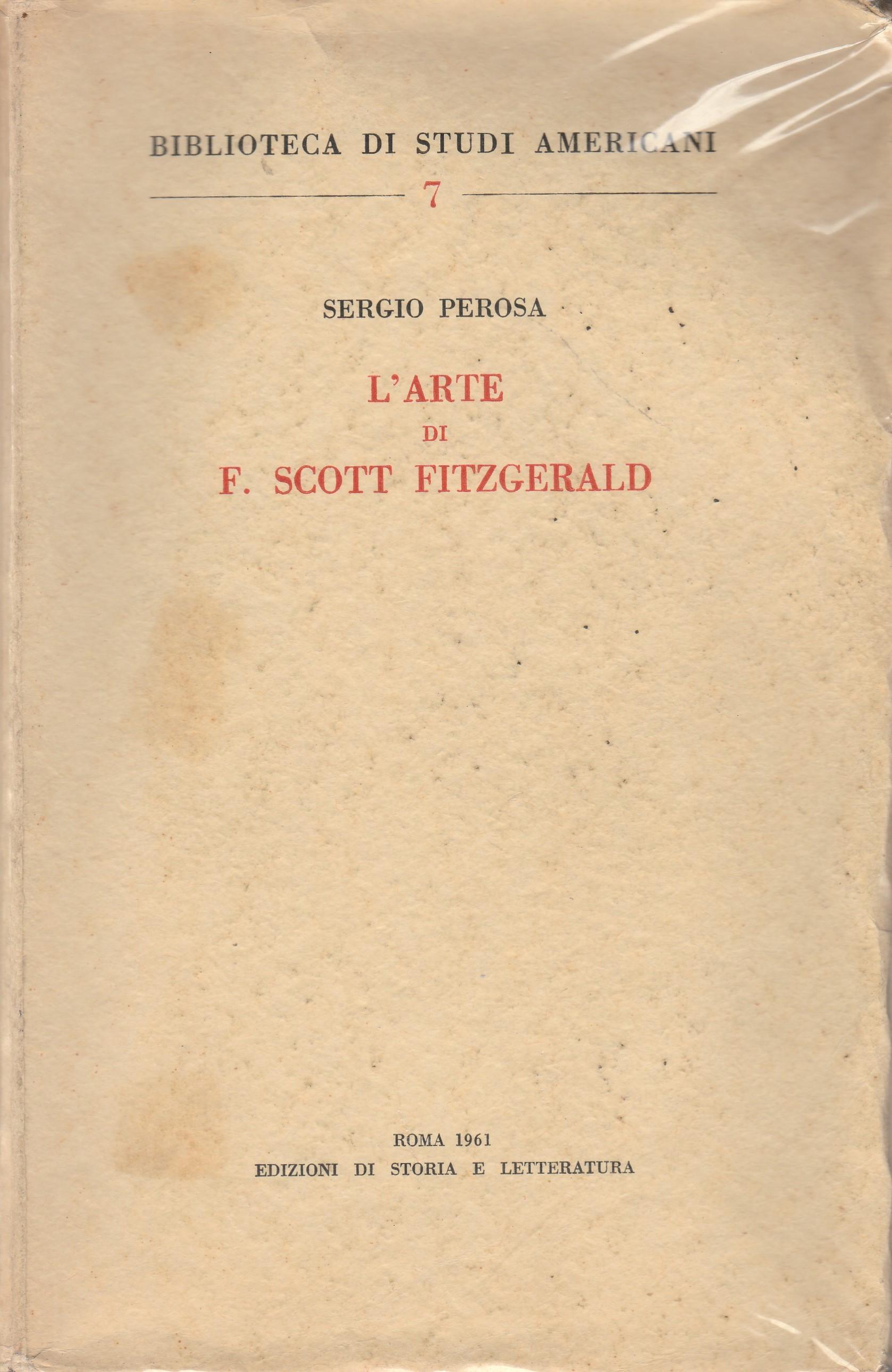 L'arte di F. Scott Fitzgerald