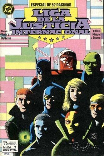 Liga de la Justicia Internacional #7