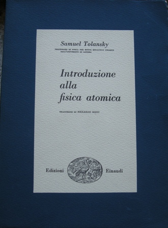 Introduzione alla fisica atomica