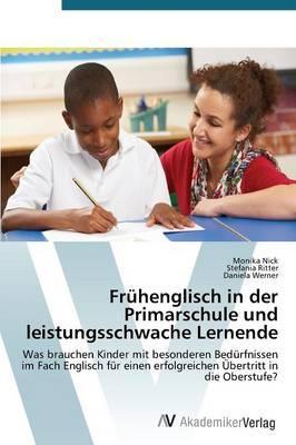 Frühenglisch in der Primarschule und leistungsschwache Lernende