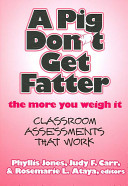 A Pig Don't Get Fatter the More You Weigh it