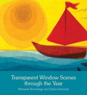 Transparent Window Scenes Through the Year