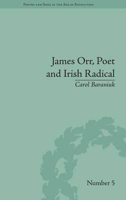 James Orr, Poet and ...