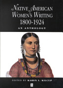 Native American Women's Writing