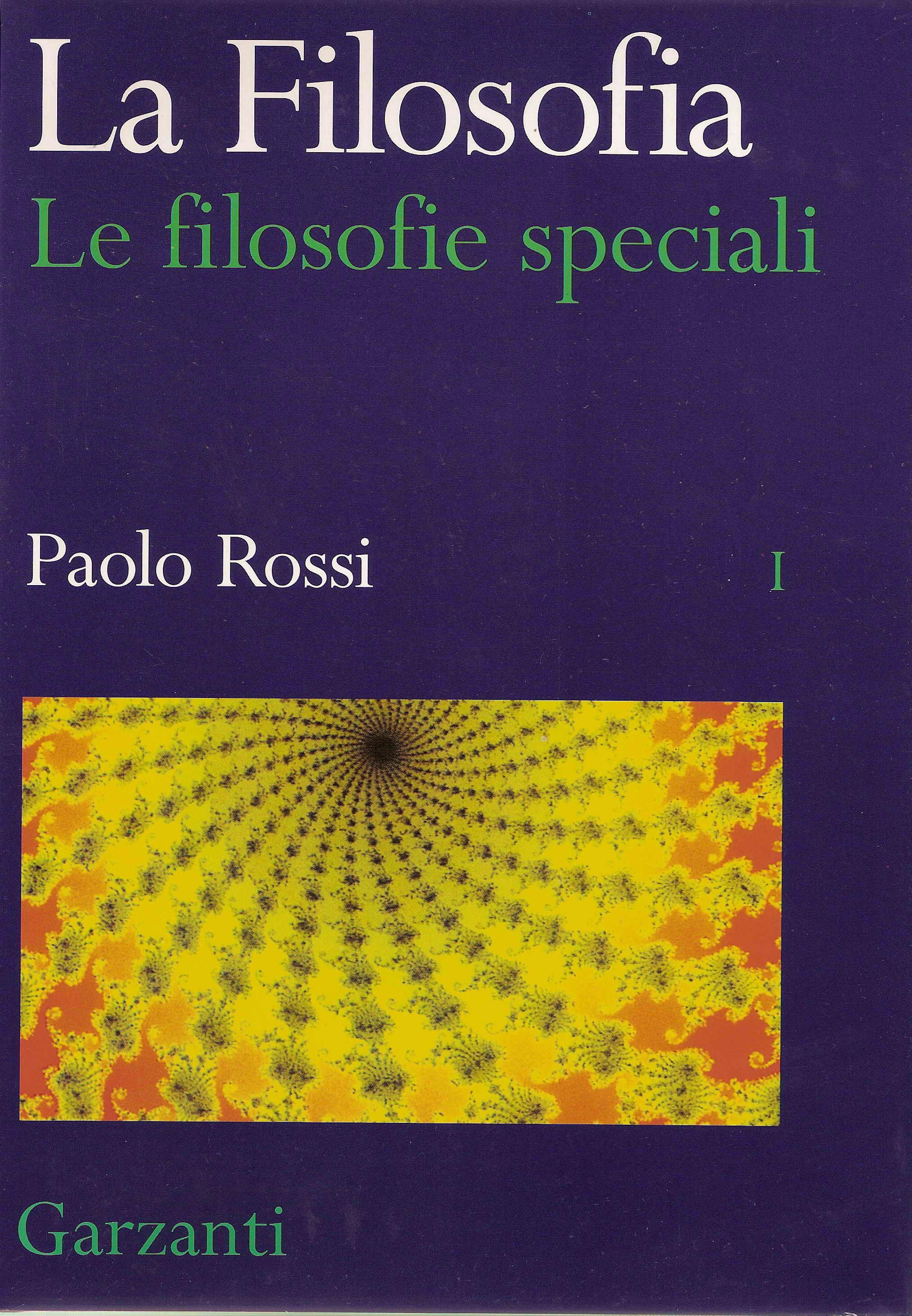 La Filosofia - Le filosofie speciali