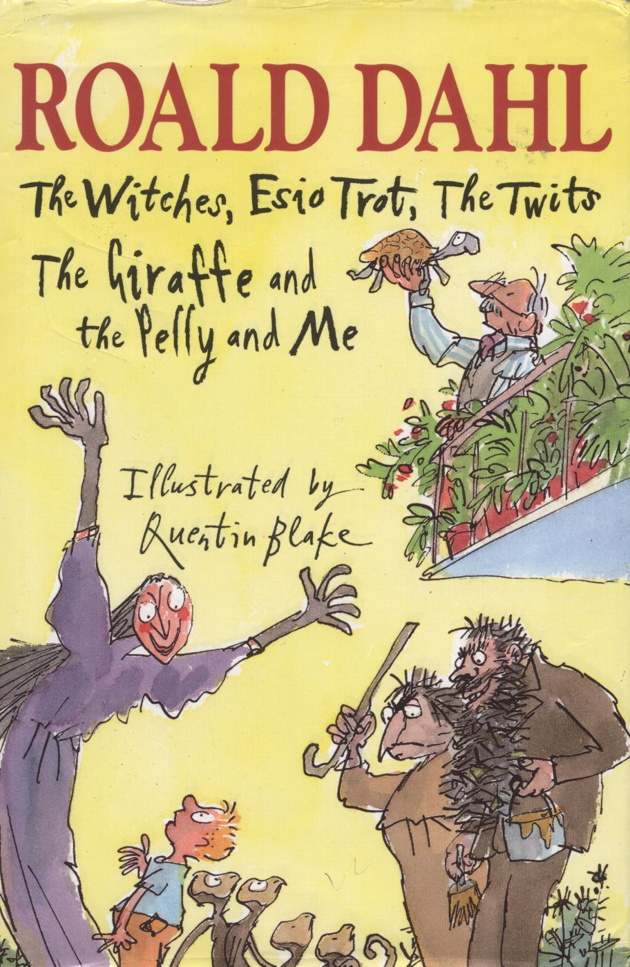 The Witches, Esio Trot, The Twits, The Giraffe and the Pelly and Me