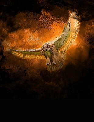 Owl Bird Of Prey Notebook