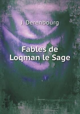 Fables de Loqman Le Sage