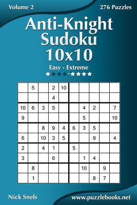 Anti-knight Sudoku 10x10