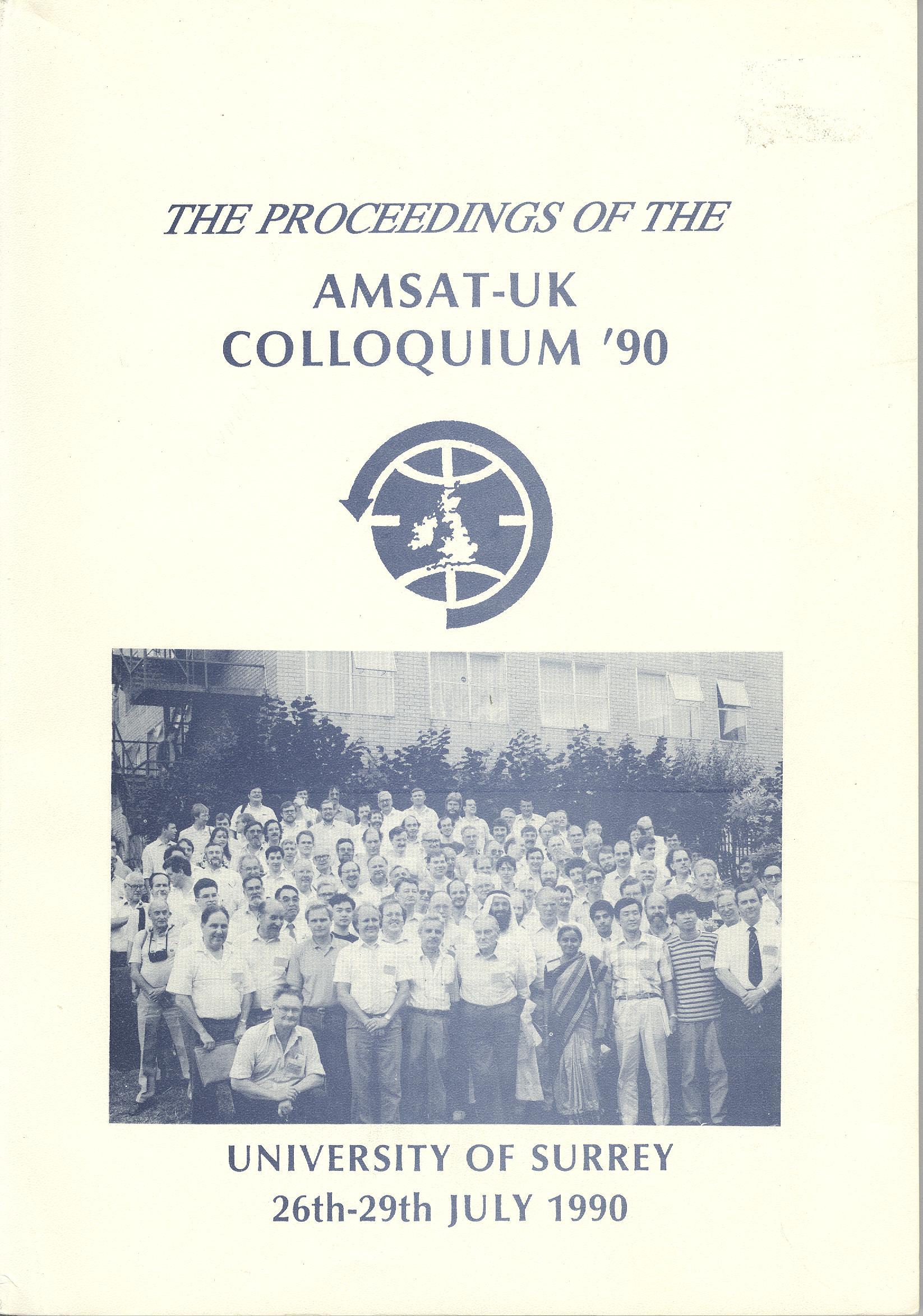 The Proceedings of the AMSAT-UK Colloquium '90