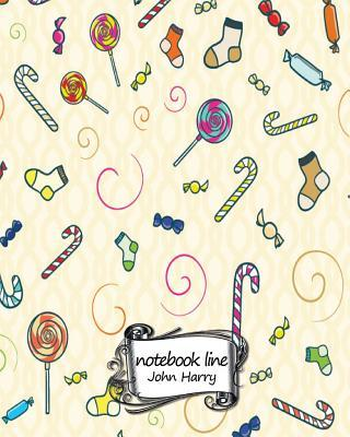 Lined Candy Design Journal / Notebook / Diary