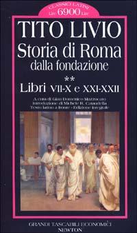 Storia di Roma dalla fondazione (Testo latino a fronte )