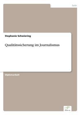 Qualitätssicherung im Journalismus