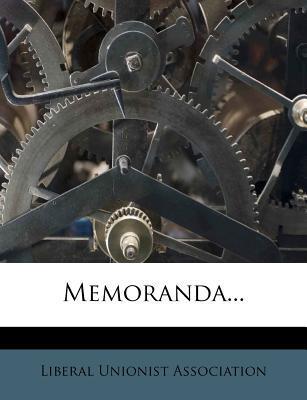 Memoranda...