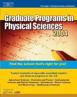 Graduate Programs in Physical Sciences 2004