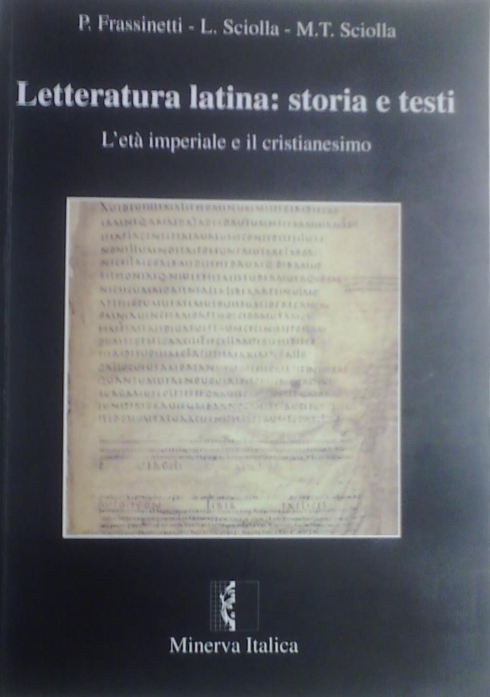 Letteratura latina: storia e testi