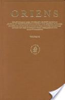 Oriens , Volume 36 V...