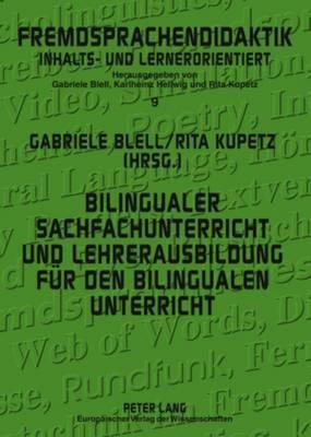 Bilingualer Sachfachunterricht Und Lehrerausbildung Fur Den Bilingualen Unterricht