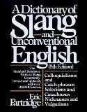 Dictionary of Slang ...